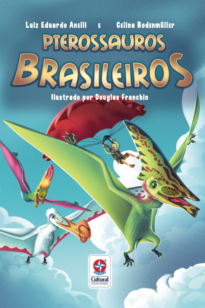 Capa do livro Pterossauros brasileiros na buobooks.com