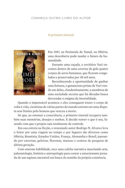 Miolo do livro Cristo de Rodrigo Alvarez